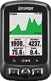 Computadora de bicicleta GPS ANT + función iGPSPORT iGS618E Ciclocomputadores con mapa de ruta...