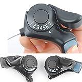 Yeshi 2pcs Set Pulgar Gear Shifter 3x 7velocidad palanca de cambio para bicicleta de...