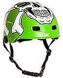 AWE MEET YOUR MAKER BMX Verde 55-58cm del casco REEMPLAZO LIBRE de 5 AÑOS del CRASH *