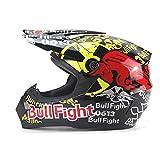 DUEBEL Bull Fight Cascos Integrales BMX/MTV/Cross Country, Cascos de Motocross (M)