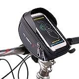 Selighting Bolsa Bicicleta Impermeable con Pantalla PVC Transparente Táctil para Teléfonos Móviles 6.0 Inches...