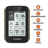CooSpo Ordenador de Ciclismo - GPS Inalámbrico para Bicicleta - Velocímetro - Rastreador de Ciclismo - Resistente...