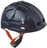 Casco plegable Plixi - Norma CE EN1078, misma protección que un casco normal - Volumen dividido por 3, Azul, S-M...