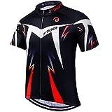 X-TIGER Camisetas de Ciclismo para Hombre, Camiseta Corta, Top de Ciclismo, Jerseys de Ciclismo, Ropa de Ciclismo,...