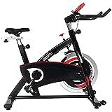 ONETWOFIT Bicicletas Estaticas, bicicleta estática con volante reforzado de 20KG y accionamiento silencioso por...