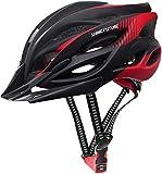 Casco de Bicicleta para Adultos, Cascos de Bicicleta Ligeros Ajustables para Hombres y Mujeres, Casco de Bicicleta...