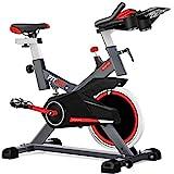 Fitfiu Fitness BESP-100 - Bicicleta indoor con disco de inercia de 16 kg y resistencia regulable, Bici de...