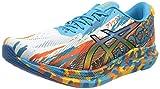 Asics Gel-Noosa Tri 13, Road Running Shoe Hombre, Digital Aqua/Marigold Orange, 44 EU
