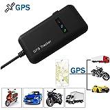 Hangang GPS Tracker, Localizador de Vehículo de Seguimiento en Tiempo Real GPS Locator para Coche, Moto, GSM, SMS,...