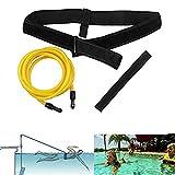 KIKILIVE Cinturón de natación para Exteriores, cinturón de Entrenamiento de natación, cinturón de Resistencia...