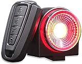 Dewanxin Luz Bicicleta Recargable USB 800 mAh,Luz Inteligente para Bicicleta,Luz Trasera de Bicicleta,Control...