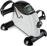 Ultrasport Minibicicleta doméstica, pedalina, ejercitador de brazos y piernas para todas las edades con consola,...