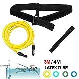 Cinturón de Entrenamiento, Equipo de natación Cuerda Elástica Conjunto de Cinturón de Natación Equipo de...