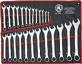 Kraftmann 1198 | Juego de llaves combinadas | 6 - 32 mm | 25 piezas