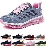 Air Zapatillas de Running para Hombre Mujer Zapatos para Correr y Asfalto Aire Libre y Deportes Calzado Unisexo...