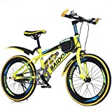 LETFF Bicicleta Plegable para Adultos de 22 Pulgadas de Velocidad Bicicleta de montaña Bicicleta de Estudiante...