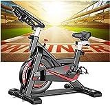 Bicicleta estática Ciclo Indoor. Bici spinning, Volante de Inercia 24 kg, Nivel Avanzado, Sistema de Absorción de...