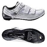 Shimano SHRP3NG440SW00, Zapatillas de Ciclismo de Carretera Hombre, Blanco (White), 44 EU