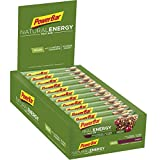 PowerBar Natural Energy Fruit Cranberry 24x40g - Barras de Energía de Carbohidratos Veganos + Magnesio