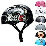 SkullCap® Casco BMX Bici y Casco Skate - Hombres Mujeres Niños y Niños, Design: Eagle, Talla: L (58 – 61 cm)