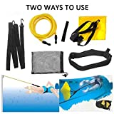 Fooing - Cinturón de natación para entrenamiento de resistencia estacionaria, para adultos y niños, uso...