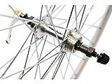 Wilkinson Alloy Narrow - Llanta para Bicicletas, Color Plateado, Talla 700 C