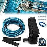JACHOM Cinturón de entrenamiento para natación, Cinturón de resistencia ajustable, natación elástica,...