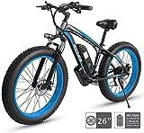 Bicicleta electrica Bicicletas, bicicleta eléctrica eléctrica de 48V eléctrica, 26 '' Neumático gordo Ebike 21...