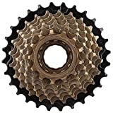 VGEBY Cassette de piñones Bicicleta, 8 Velocidades Rueda Libre, Bicicleta Juego de piñones Ciclismo Shimano...