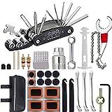 IWILCS Kit Reparación Bicicleta,Herramienta de Reparación Multifunción,Kit de Herramientas para Bicicleta con...