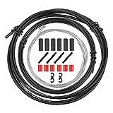 QKURT Kit Universal de Carcasa de Cable de Cambio de Bicicleta, Bicicleta Derailleur Cable House Set para Shimanso...