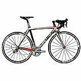 BEIOU® 2017 700C Bicicleta de carretera Shimano ULTEGRA 10S Bicicleta de carreras 540mm 560mm T700-M40 Bicicleta...