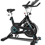 Ancheer Bicicleta de Spinning Bicicleta Indoor de Volante de Inercia de 22kg Bicicletas deCiclo con Conecto con...