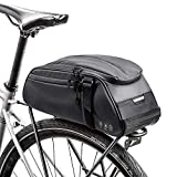 Achort Bolsa Trasera para Bicicleta Impermeable Multifuncional Alforja Trasera Bicicleta Bolsa de Hombro para...