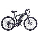 Hyuhome Las Bicicletas eléctricas para Adultos, IP54 Impermeable 500/1000W Ebike de aleación Aluminio Bicicletas...