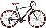 Adriatica - Bicicleta híbrida Boxter RT de hombre con cuadro de aluminio, ruedas de 28 pulgadas, cambios Shimano...