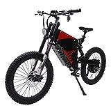 HYLH 72V 5000W FC-1 Potente Bicicleta eléctrica eBike Mountain con 72V 35Ah Li-Ion Samsung NCR18650GA 3500mAh...