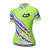 weimo Star Ciclismo Jersey Mujeres Bicicleta Maillots Sport Blusa Manga Corta Bicicleta Camisetas Top Outdoor...