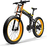 Bicicleta electrica Bicicletas, 1000W Fat Bike Electric Bike 48V 14.5Ah Mountain Mountain Ebike 27 Velocidades 26...