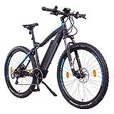 NCM Moscow Plus Bicicleta eléctrica de montaña, 250W, Batería 48V 16Ah • 768Wh (27,5' Negro Plus)