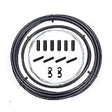 Kit de Cables de desviador de Bicicleta, Juego de Carcasa de Cable de Cambio de Bicicleta para Shimano...