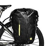 Selighting Bolsas Sillín Bicicleta Portaequipajes Alforjas Trasera para Bicicleta Impermeable y Multifunción...