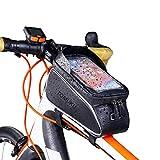 "Tomuku olsa Bicicleta, Bolsa Móvil Bicicleta, Bolsa Protectora Cuadro Bicicleta de móviles de hasta 6 ""...."