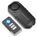 Fosmon Alarma Anti Robo de Bicicleta con Control Remoto, Batería a Prueba de Vibraciones a Prueba de Agua Sirena...