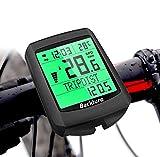 BACKTURE Cuentakilómetros para Bicicleta, 5 Idiomas Impermeable Computadora de Bicicleta, Velocímetro...