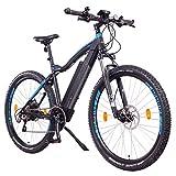 NCM Moscow Plus Bicicleta eléctrica de montaña, 250W, Batería 48V 16Ah • 768Wh, Negro 29'