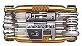 Crank Brothers Multi-17 - Herramientas para bicicletas dorado dorado Talla:talla única