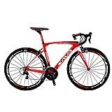 SAVADECK HERD6.0 700C Bicicleta de Carretera de Fibra de Carbono Shimano 105 R7000 22S Sistema de transmisión...