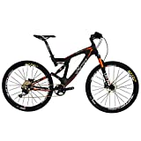 BEIOU Carbon Dual Suspension Mountain Bicycles Todo terreno 27.5 pulgadas MTB 650B Bicicleta SHIMANO DEORE 10...