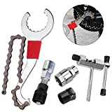 CGBOOM Kits de Herramientas de reparacion de Bicicleta Cortador de Cadena de Bicicleta+Remover de Cadena+Remover de...